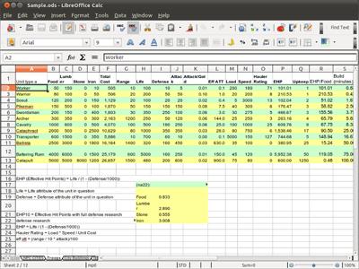 Screenshot Calc